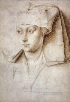 Rogier van der Weyden Painting - Portrait of a Young Woman painter Rogier van der Weyden