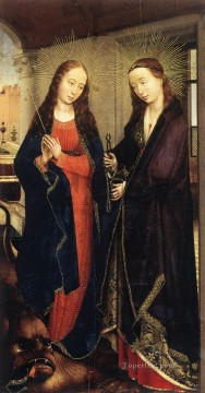 Rogier van der Weyden Painting - Sts Margaret and Apollonia Netherlandish painter Rogier van der Weyden