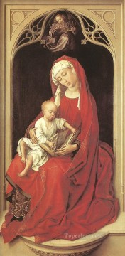 Rogier van der Weyden Painting - Virgin and Child Duran Madonna Rogier van der Weyden