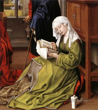 Rogier van der Weyden Painting - The Magdalene Reading Netherlandish painter Rogier van der Weyden