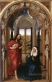 Miraflores Altarpiece right panel Rogier van der Weyden