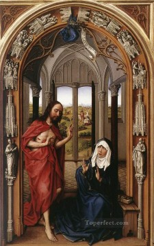 Altarpiece Painting - Miraflores Altarpiece right panel Rogier van der Weyden