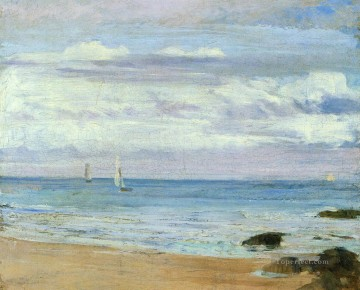 Silver Canvas - Blue and Silver Trouville James Abbott McNeill Whistler