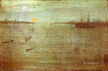 Water Works - Nocturne Blue and Gold Southampton Water James Abbott McNeill Whistler
