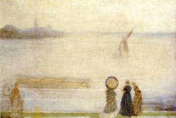 MC Oil Painting - Battersea Reach from Lindsey Houses James Abbott McNeill Whistler