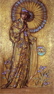 MC Oil Painting - Design for a Mosaic James Abbott McNeill Whistler