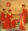 Harmony in Flesh Colour and Red James Abbott McNeill Whistler