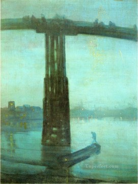 James Abbott McNeill Whistler Painting - Nocturne Blue and Gold Old Battersea Bridge James Abbott McNeill Whistler