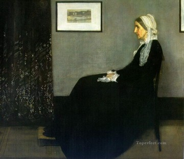 black Art - Arrangement in Grey and Black James Abbott McNeill Whistler