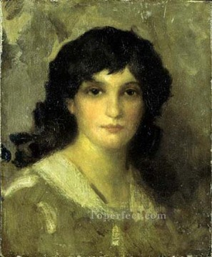 Head Art - James Abott McNeill Head of a Young Woman James Abbott McNeill Whistler