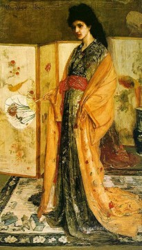 MC Oil Painting - La Princesse duPays de la Porcelaine James Abbott McNeill Whistler