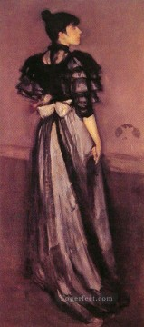Silver Painting - Mother of Pearl and Silver The Andalusian James Abbott McNeill Whistler
