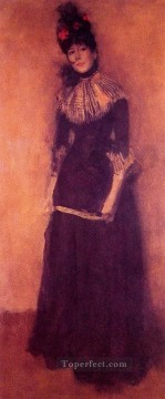 Rose Art - Rose et argent La Jolie Mutine James Abbott McNeill Whistler