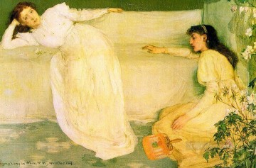White Art - Symphony in White No 3 James Abbott McNeill Whistler