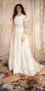 White Art - Symphony in White No1The White Girl James Abbott McNeill Whistler