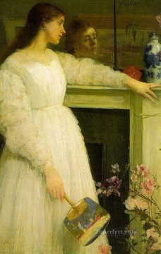 James Painting - Symphony in White no 2The Little White Girl James Abbott McNeill Whistler