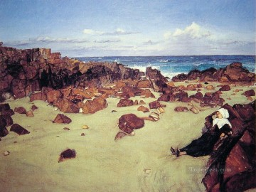 Coast Painting - The Coast of Brittany James Abbott McNeill Whistler