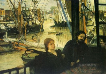 Wapping on Thames James Abbott McNeill Whistler Oil Paintings