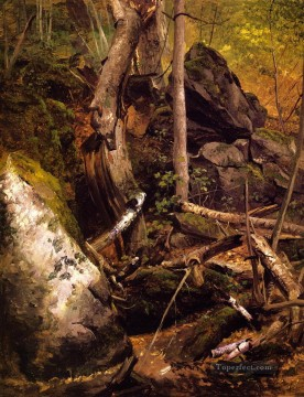 Beard Canvas - Forest Interior William Holbrook Beard