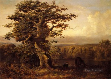 Beard Canvas - A View in Virginia William Holbrook Beard