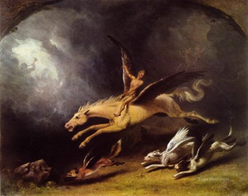 hunt Painting - The Fox Hunter s Dream William Holbrook Beard