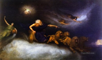 Beard Canvas - The Spirit of the Storm William Holbrook Beard