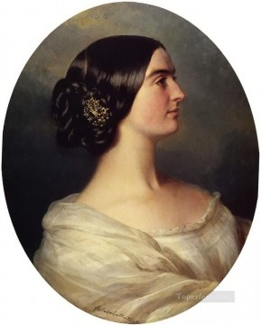 Charlotte Stuart Viscountess Canning royalty portrait Franz Xaver Winterhalter Oil Paintings