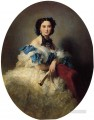 Countess Varvara Alekseyevna Musina Pushkina royalty portrait Franz Xaver Winterhalter