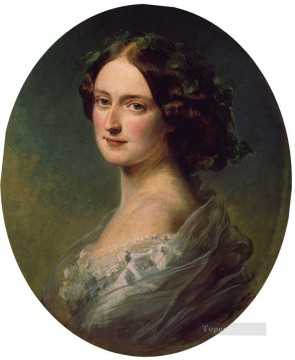 augusta Painting - Lady Clementina Augusta Wellington Child Villiers royalty portrait Franz Xaver Winterhalter