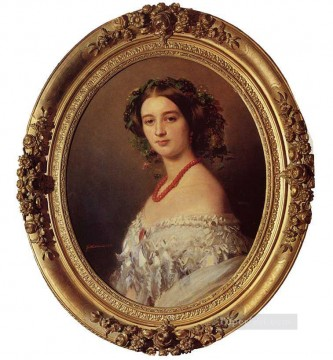 royalty Art Painting - Malcy Louise Caroline Frederique Berthier de Wagram Princess Murat royalty portrait Franz Xaver Winterhalter