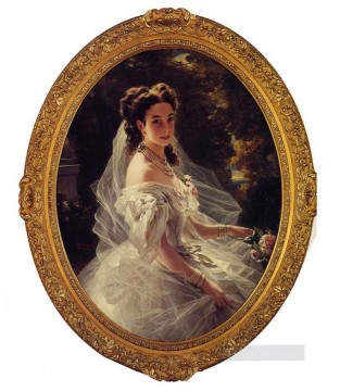 royalty Art Painting - Pauline Sandor Princess Metternich royalty portrait Franz Xaver Winterhalter