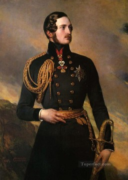 royalty Art Painting - Prince Albert 1842 royalty portrait Franz Xaver Winterhalter