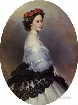 Franz Xaver Winterhalter Painting - Princess Alice royalty portrait Franz Xaver Winterhalter