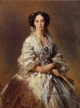 equestrian portrait of maria luisa of parma Painting - The Empress Maria Alexandrovna of Russia royalty portrait Franz Xaver Winterhalter