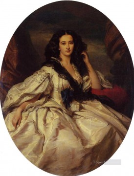 Wienczyslawa Barczewska Madame de Jurjewicz royalty portrait Franz Xaver Winterhalter Oil Paintings