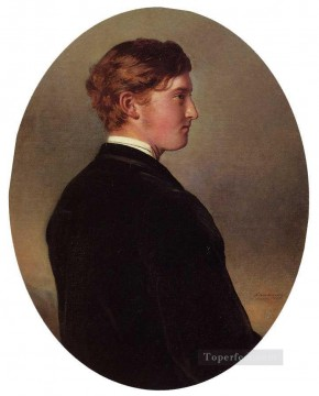 Franz Xaver Winterhalter Painting - William Douglas Hamilton Duke of Hamilton royalty portrait Franz Xaver Winterhalter