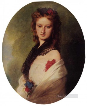 royalty Art Painting - Zofia Potocka Countess Zamoyska royalty portrait Franz Xaver Winterhalter