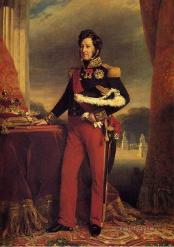 Franz Xaver Winterhalter Painting - King Louis Philippe royalty portrait Franz Xaver Winterhalter