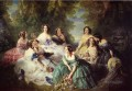 The Empress Eugenie Surrounded by her Ladies in Waiting Franz Xaver Winterhalter