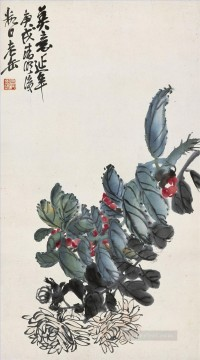 cangshuo Painting - Wu cangshuo for ever old China ink