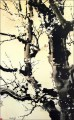 Xu Beihong grey plum blossom old China ink