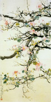 Xu Beihong branches old China ink Oil Paintings