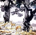 Xu Beihong deer old China ink