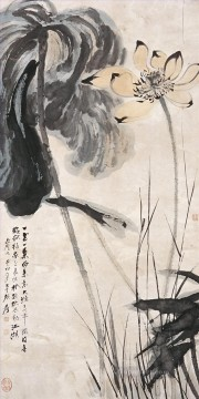 chang dai chien Painting - Chang dai chien lotus 14 old China ink