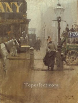 Impressions de Londres foremost Sweden Anders Zorn Oil Paintings