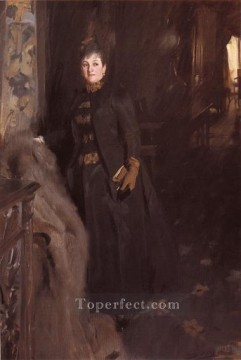 madame - Madame Clara Rikoff foremost Sweden Anders Zorn
