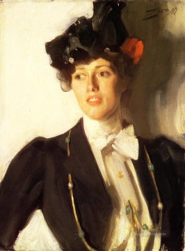 Martha Dana foremost Sweden Anders Zorn Oil Paintings