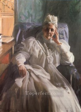 Queen Sophia foremost Sweden Anders Zorn Oil Paintings