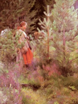 Vallkulla foremost Sweden Anders Zorn Oil Paintings