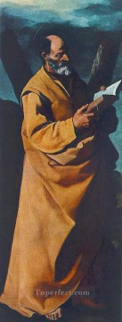 baroque - Apostle St Andrew Baroque Francisco Zurbaron